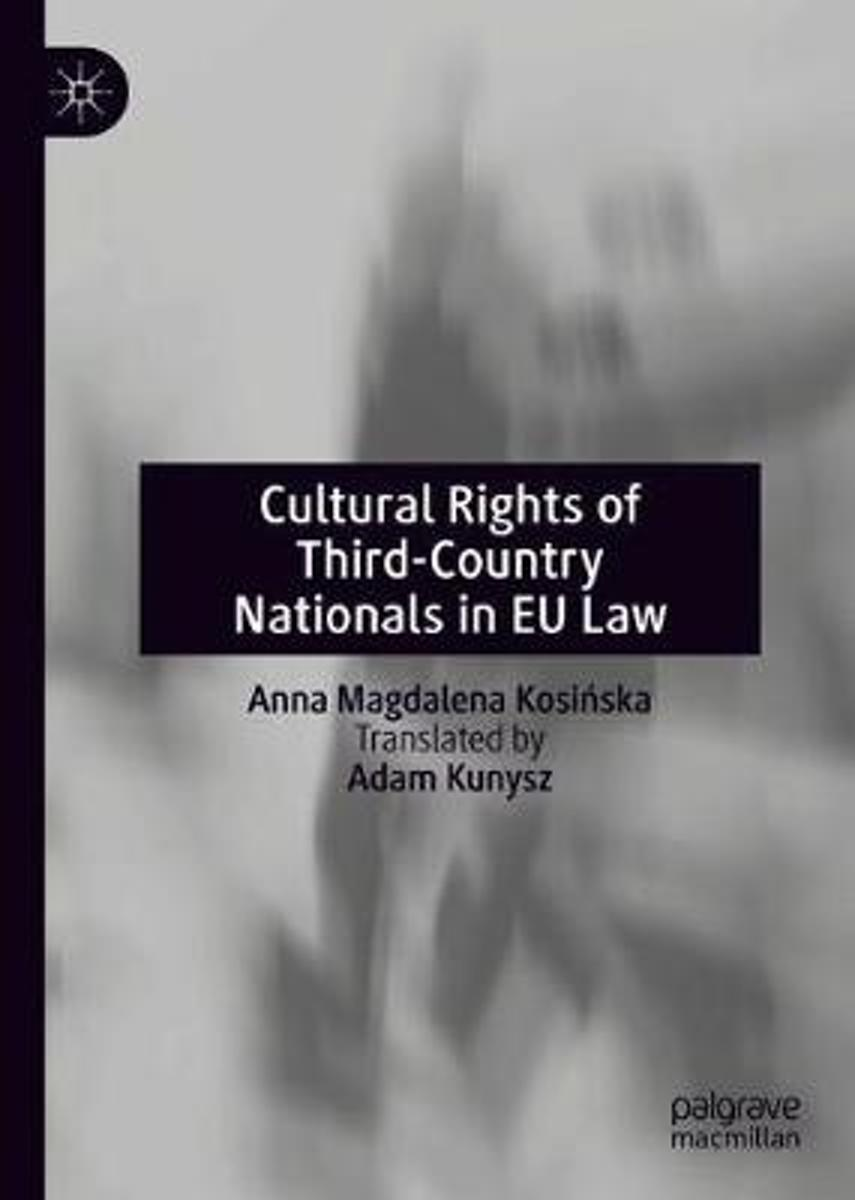 Cultural Rights of Third-Country Nationals in EU Law