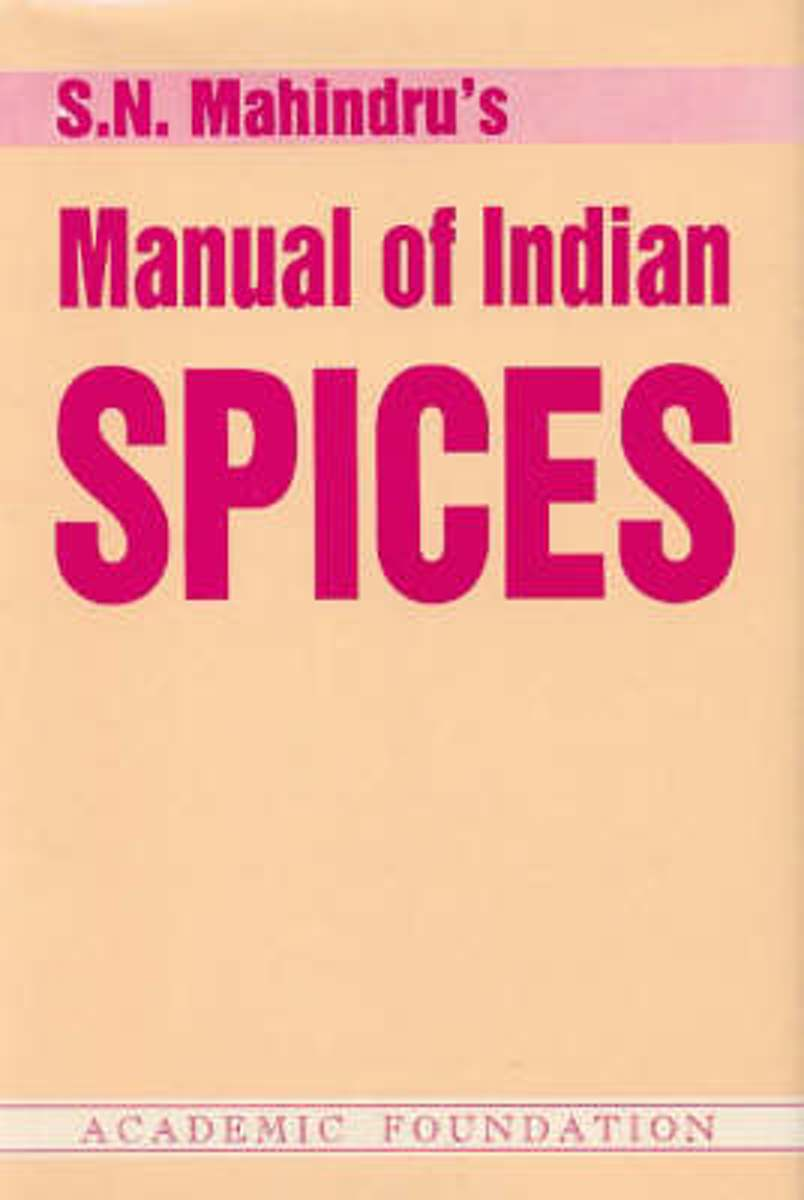 Manual of Indian Spices
