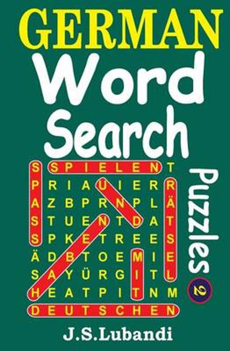 German Word Search Puzzles 2