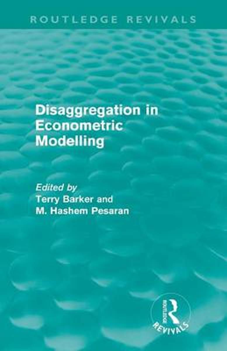 Disaggregation in Econometric Modelling