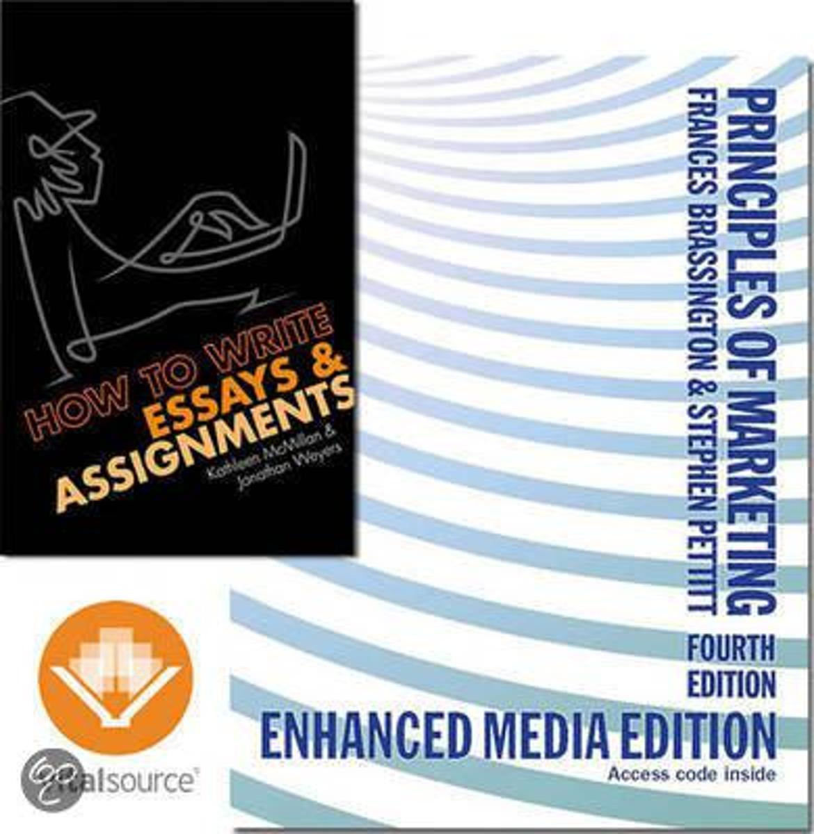 Principles Of Marketing With Ebook And How To Write Essays And Assignments