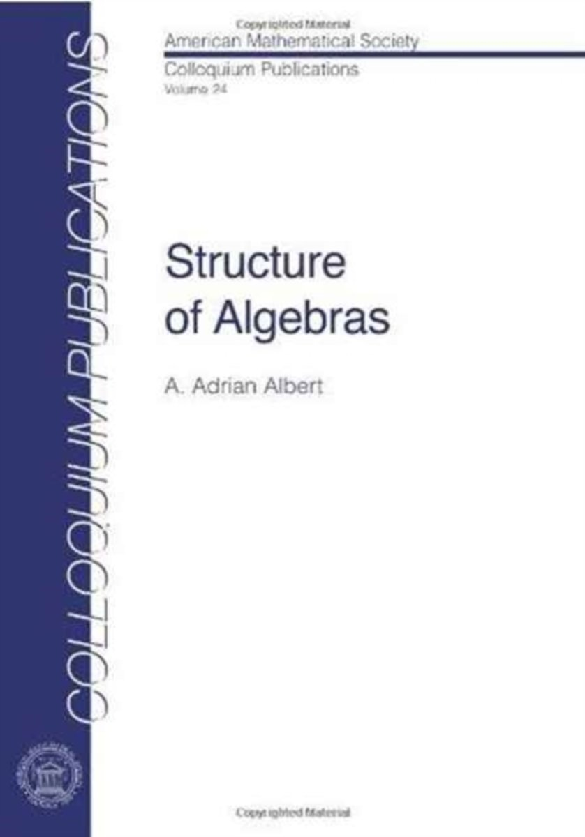 Structure of Algebras