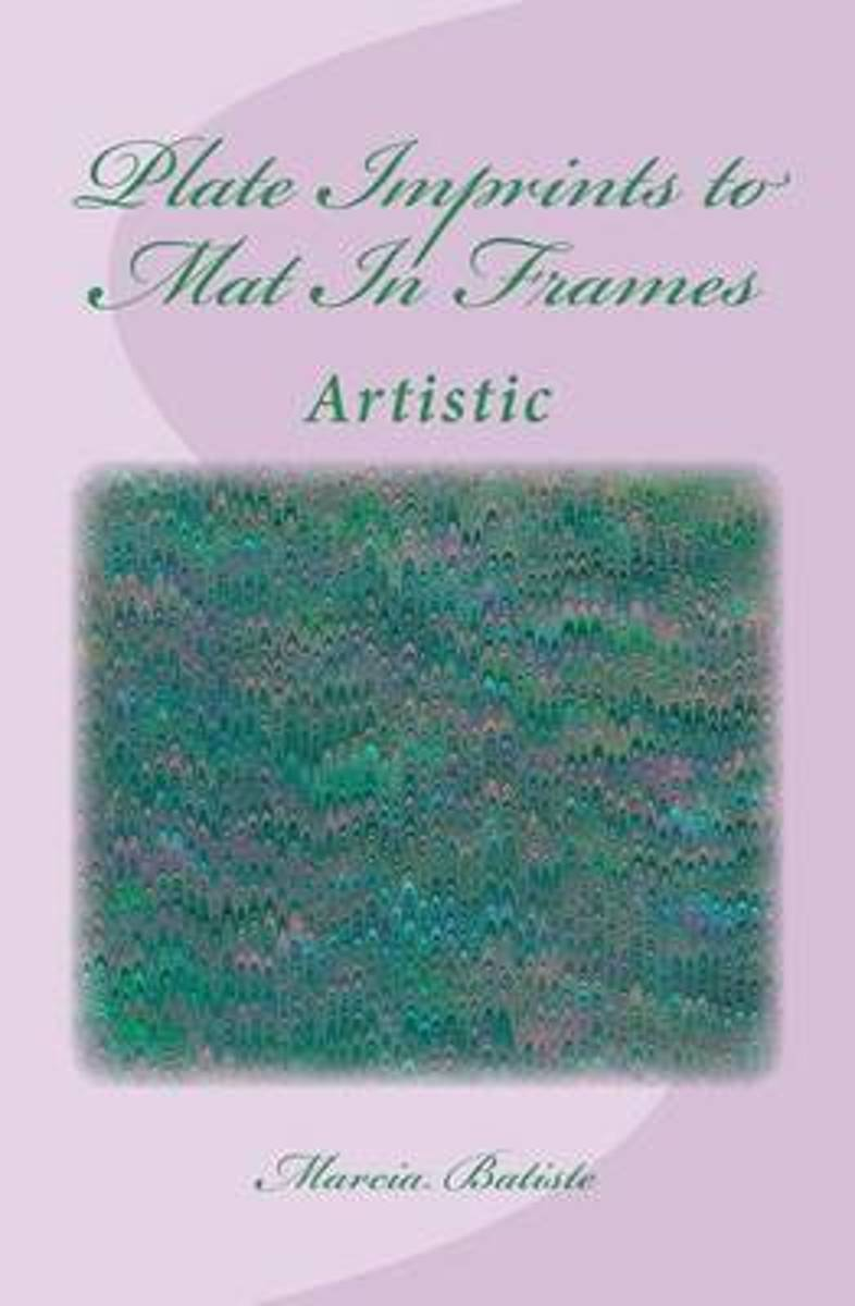 Plate Imprints to Mat in Frames