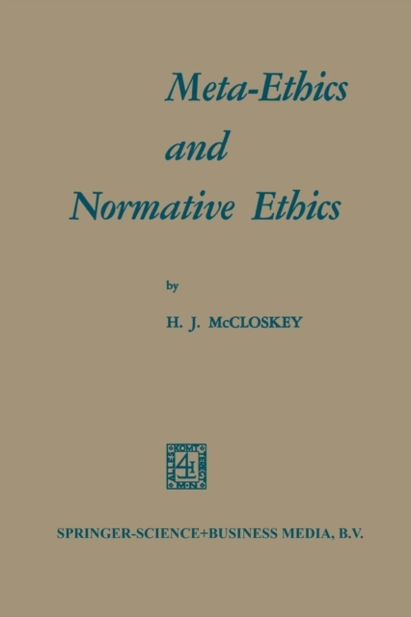 Meta-Ethics and Normative Ethics