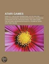 Atari Games: Pong, E.T. The Extra-Terrestrial, 3-D Tic-Tac-Toe, Basic Programming, Neverwinter Nights 2, Dungeons & Dragons Online