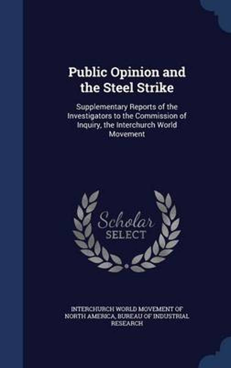 Public Opinion and the Steel Strike