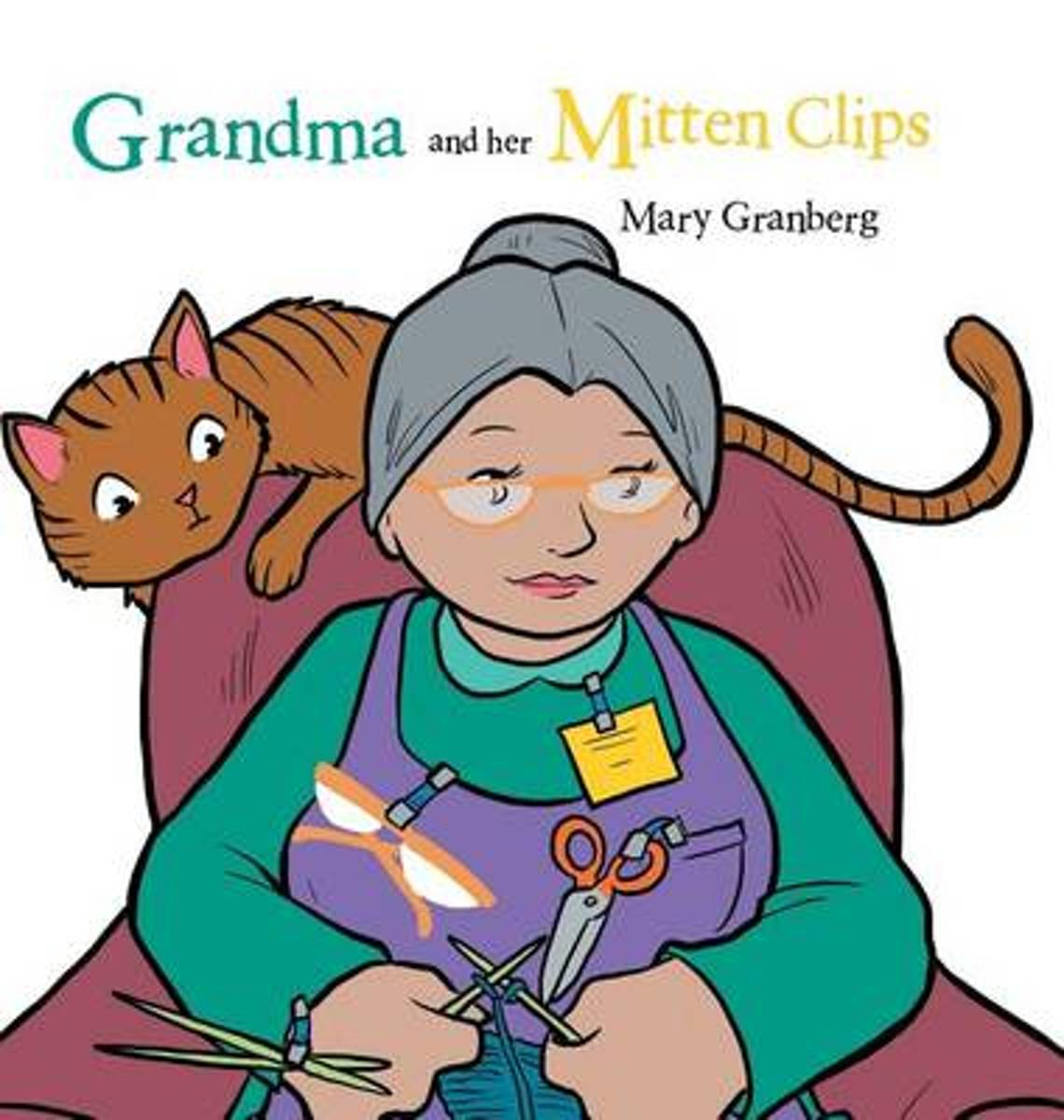 Grandma and Her Mitten Clips