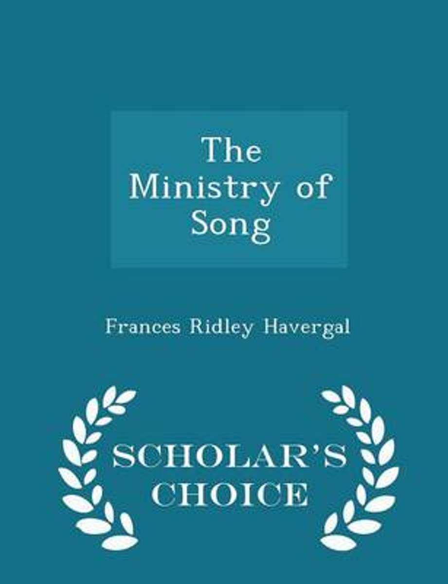 The Ministry of Song - Scholar's Choice Edition