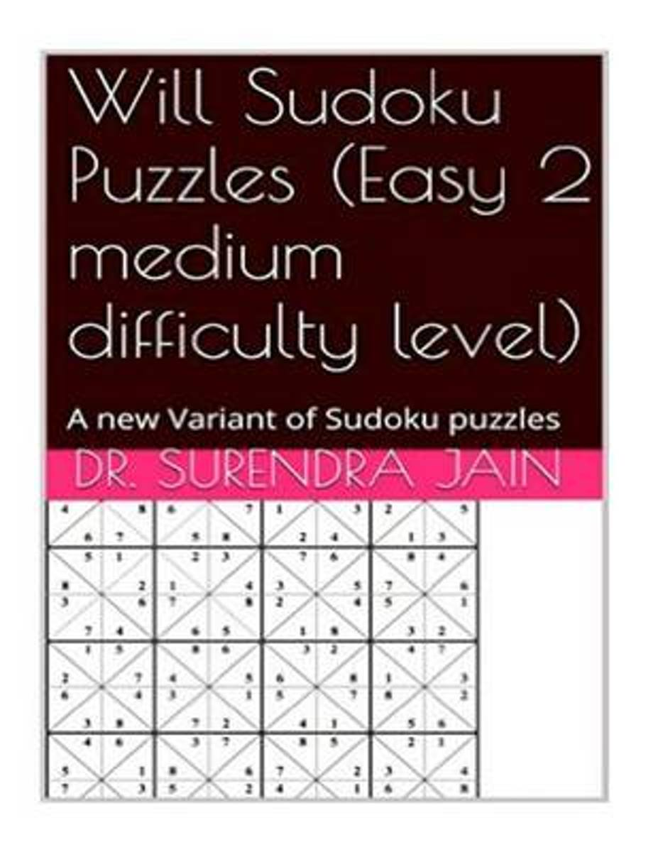 Will Sudoku Puzzles (Easy 2 Medium Level)