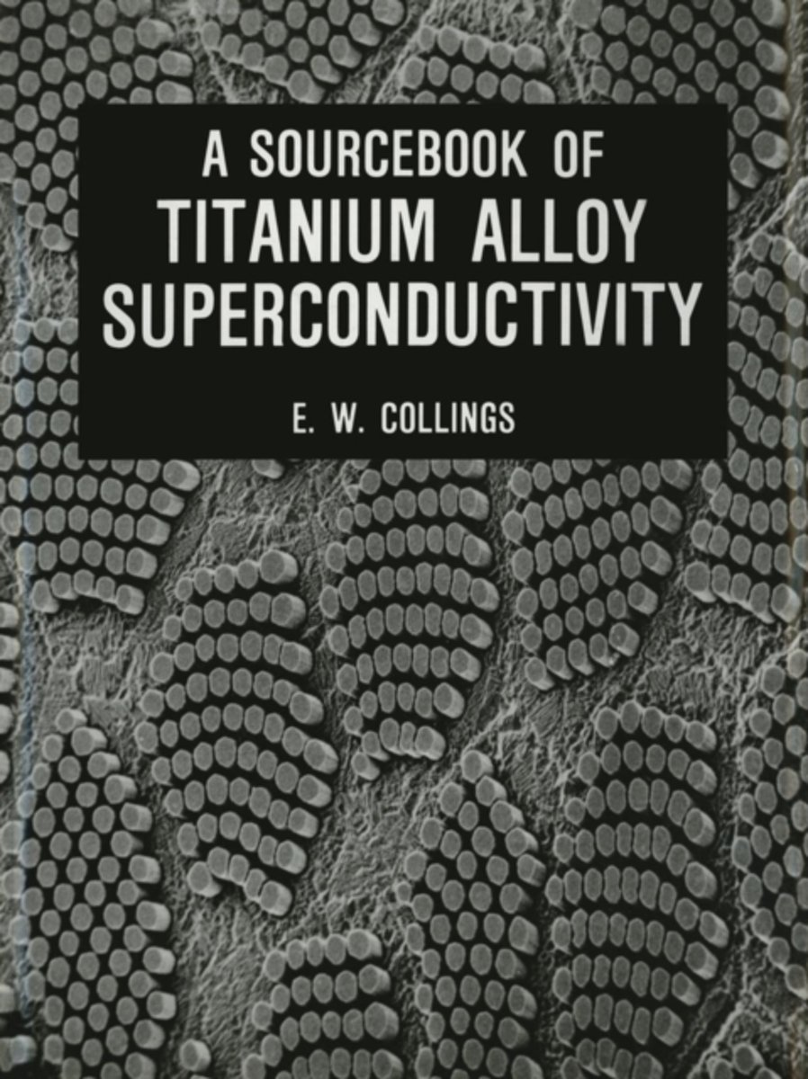 A Sourcebook of Titanium Alloy Superconductivity