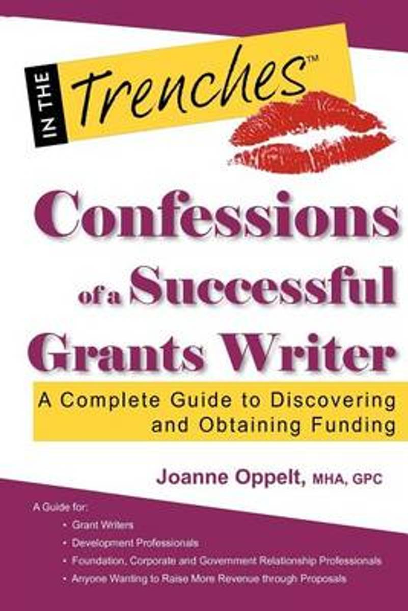 Confessions of a Successful Grants Writer