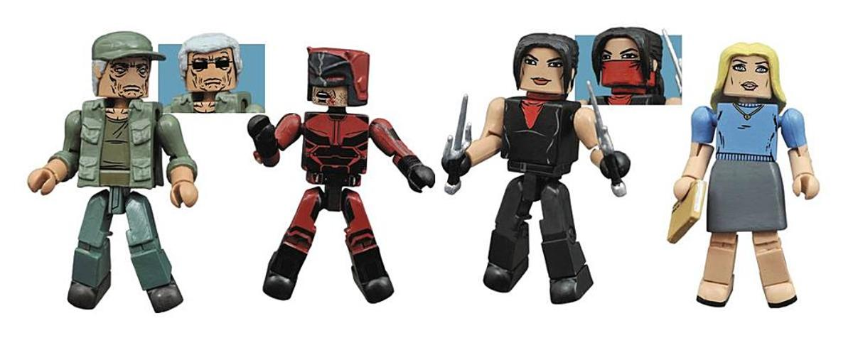 Marvel Minimates Daredevil TV Box Set