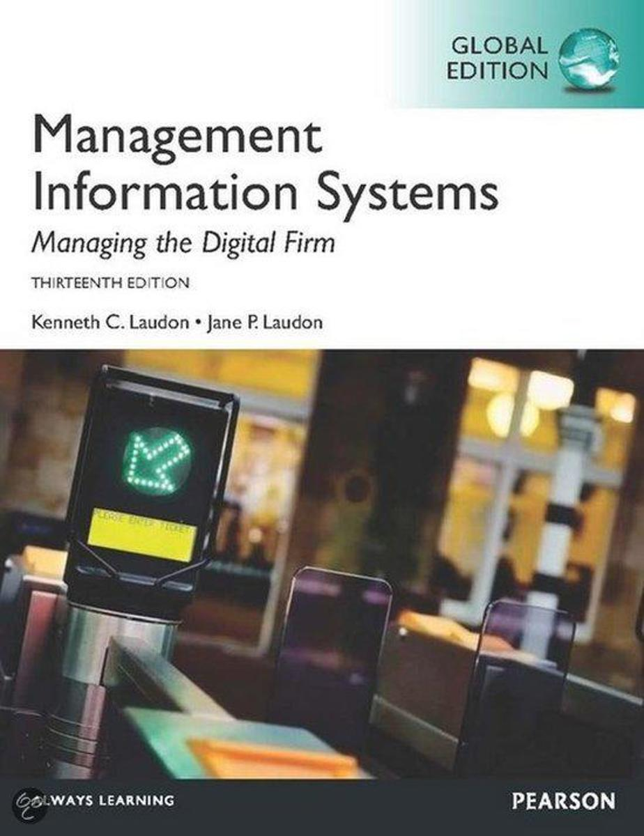 Management Information Systems, plus MyMISLab with Pearson eText, Global Edition