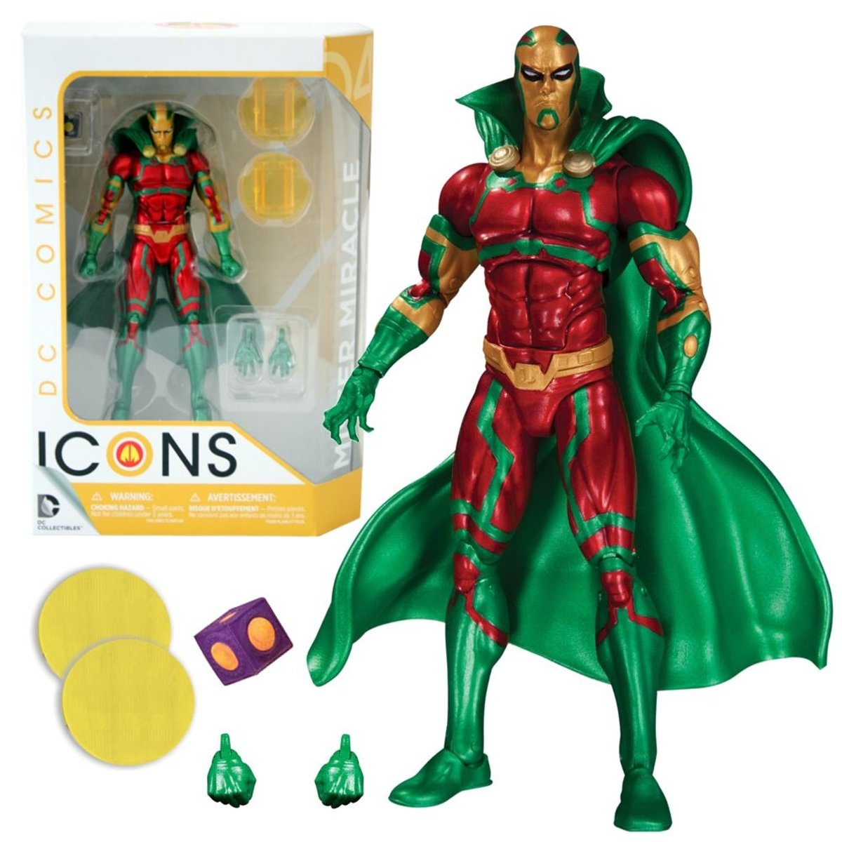 DC Icons Mister Miracle Earth 2 Action Figure