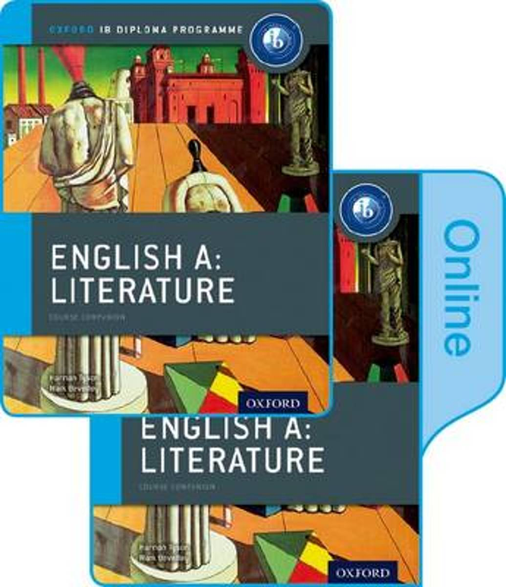 IB English A Literature Print and Online Course Book Pack