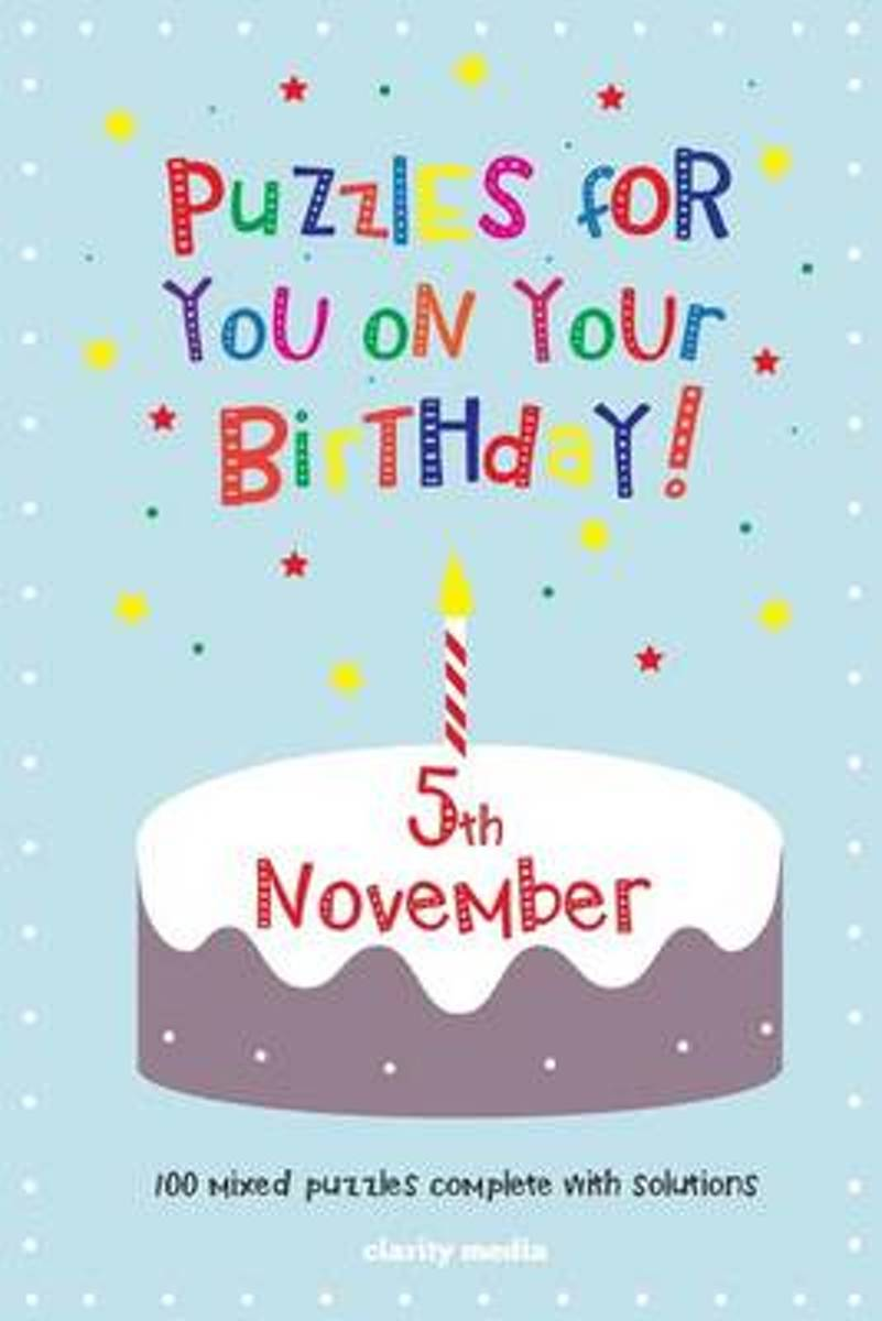 Puzzles for You on Your Birthday - 5th November