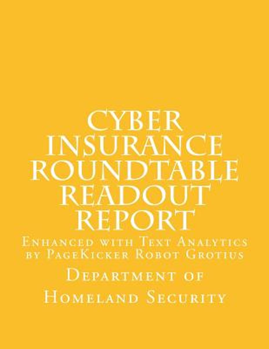 Cyber Insurance Roundtable Readout Report