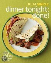 Real Simple Dinner Tonight -- Done!