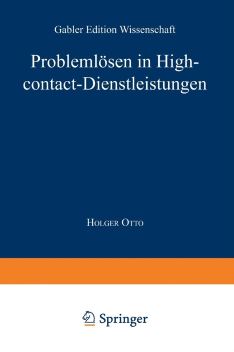 Probleml sen in High-Contact-Dienstleistungen