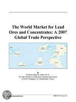 The World Market for Lead Ores and Concentrates