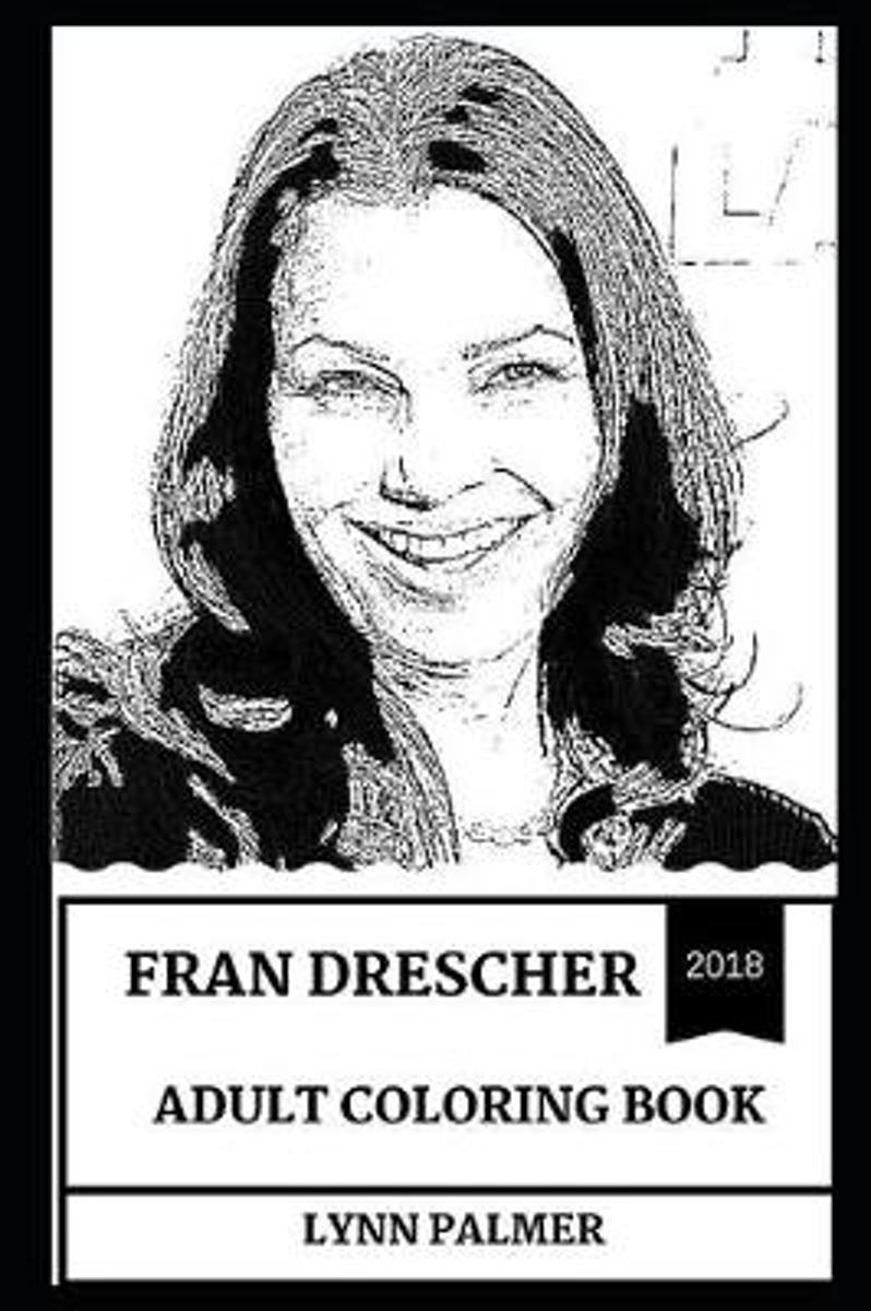 Fran Drescher Adult Coloring Book