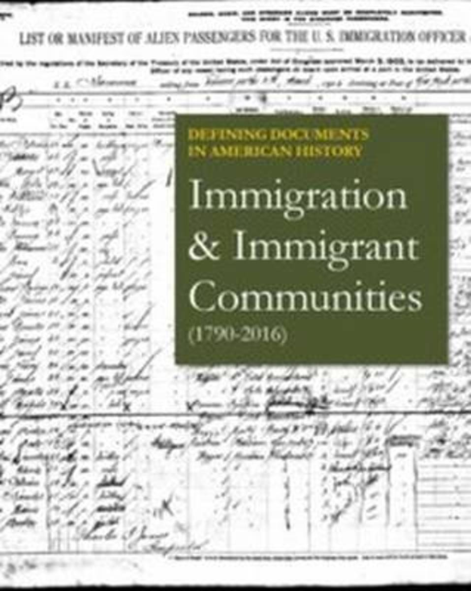 Immigration & Immigrant Communities (1790-2016)
