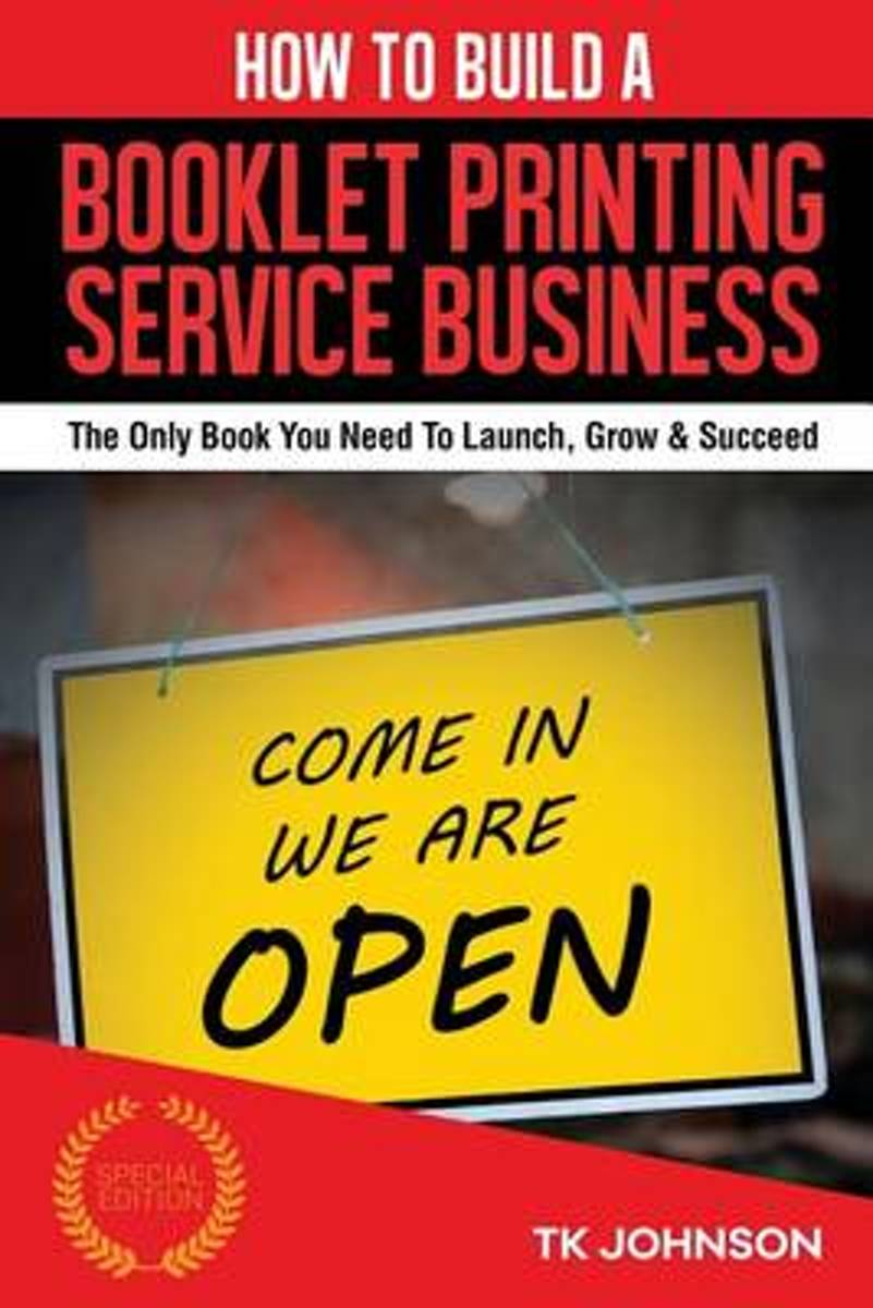 How to Build a Booklet Printing Service Business