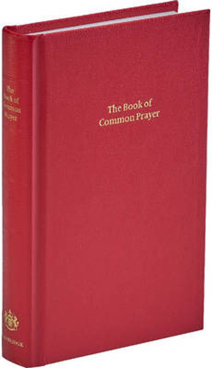BCP Standard Edition Prayer Book Red Imitation leather Hardback 601B