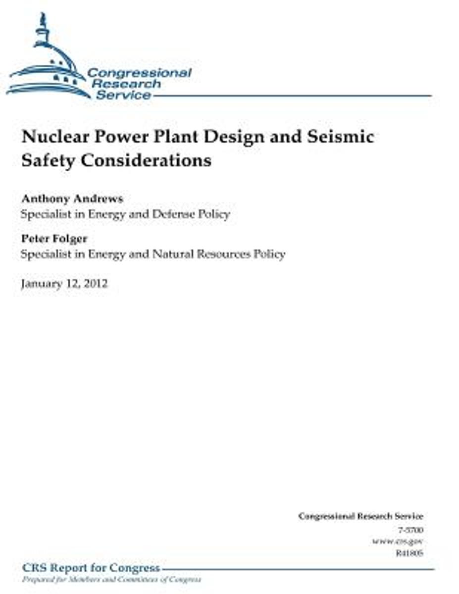 Nuclear Power Plant Design and Seismic Safety Considerations image