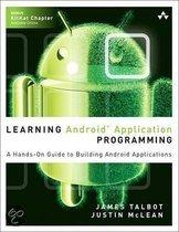 Learning Android� Application Programming