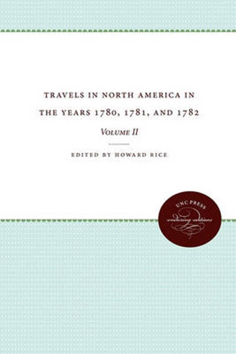 Travels in North America in the Years 1780, 1781, and 1782