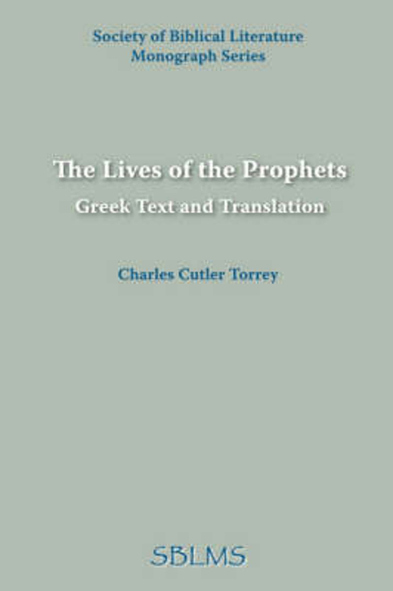 The Lives of the Prophets