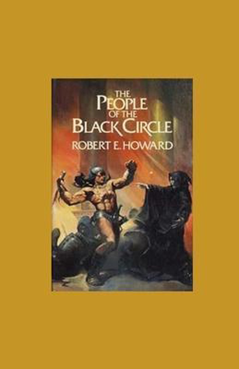 The People of the Black Circle Illustrated