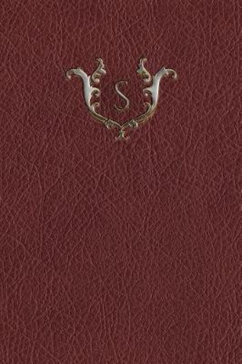Monogram S Any Day Planner Notebook