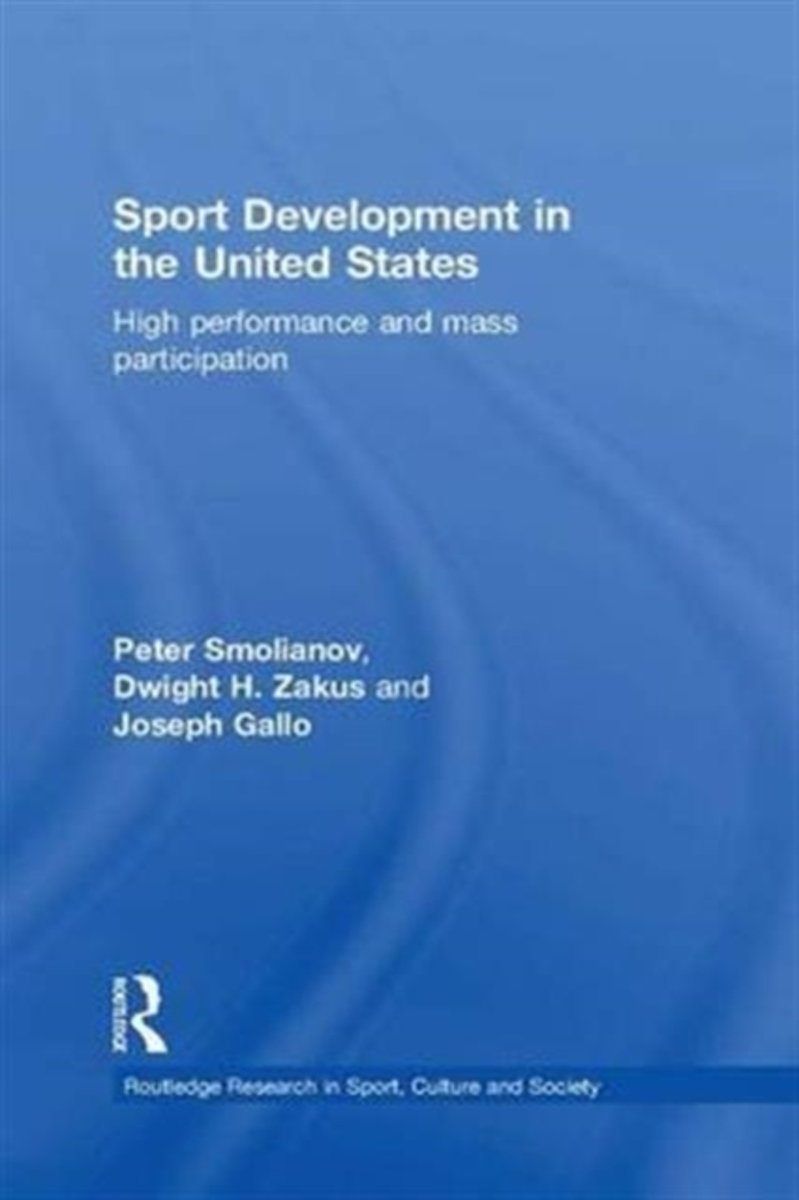 Sport Development in the United States