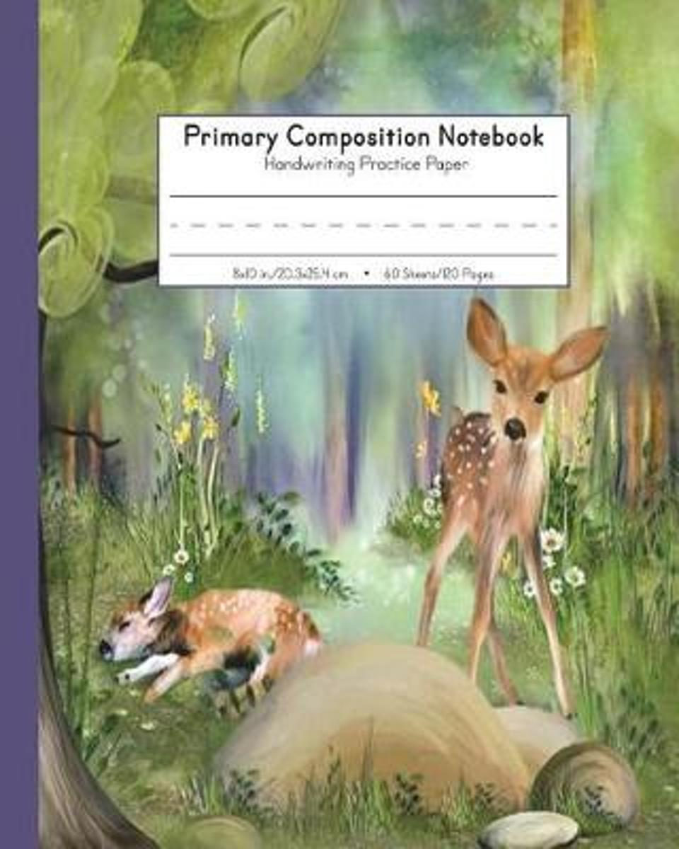 Primary Composition Notebook Handwriting Practice Paper