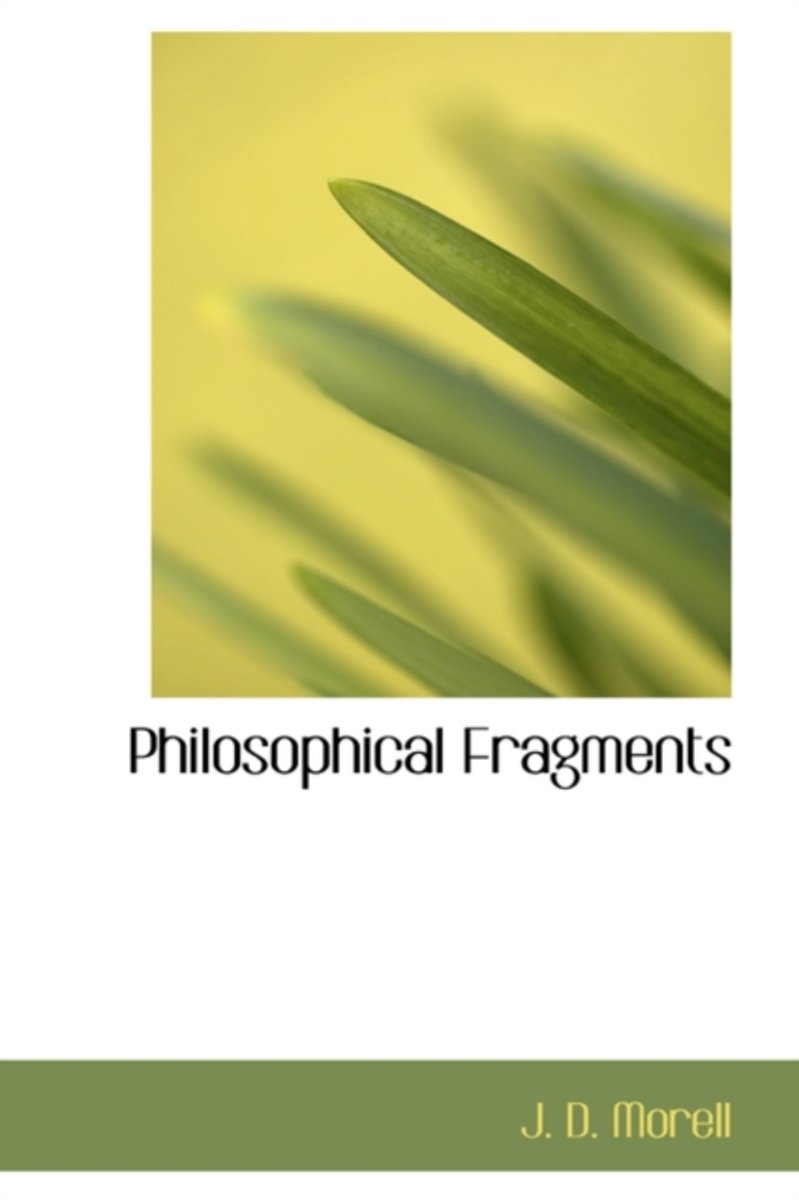 Philosophical Fragments