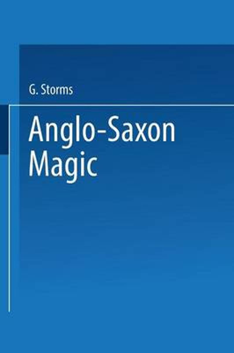 Anglo-Saxon Magic