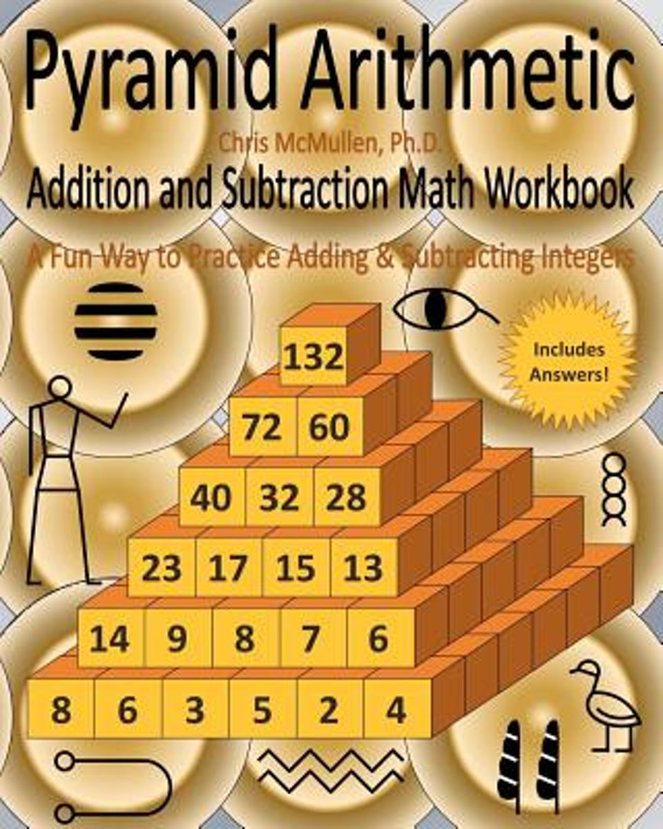 Pyramid Arithmetic Addition and Subtraction Math Workbook