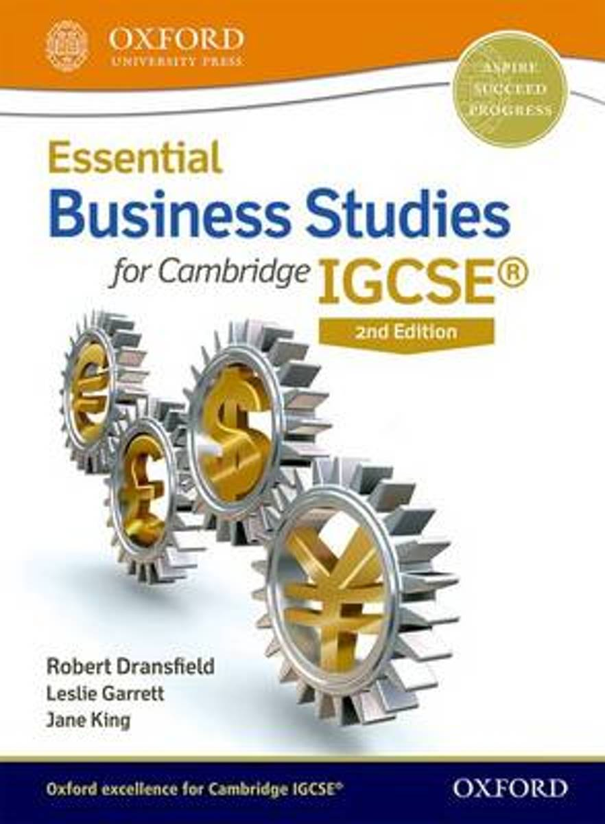 Essential Business Studies for Cambridge IGCSE (R) Student Book