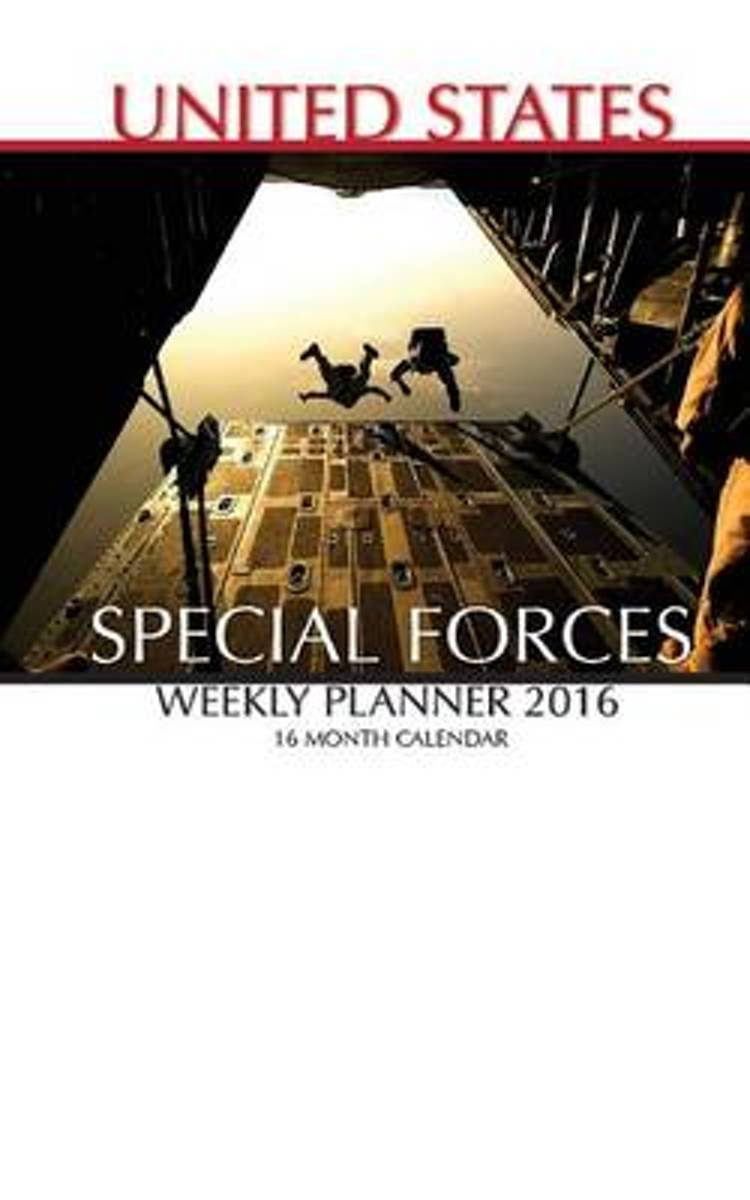 United States Special Forces Weekly Planner 2016