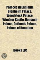 Palaces in England
