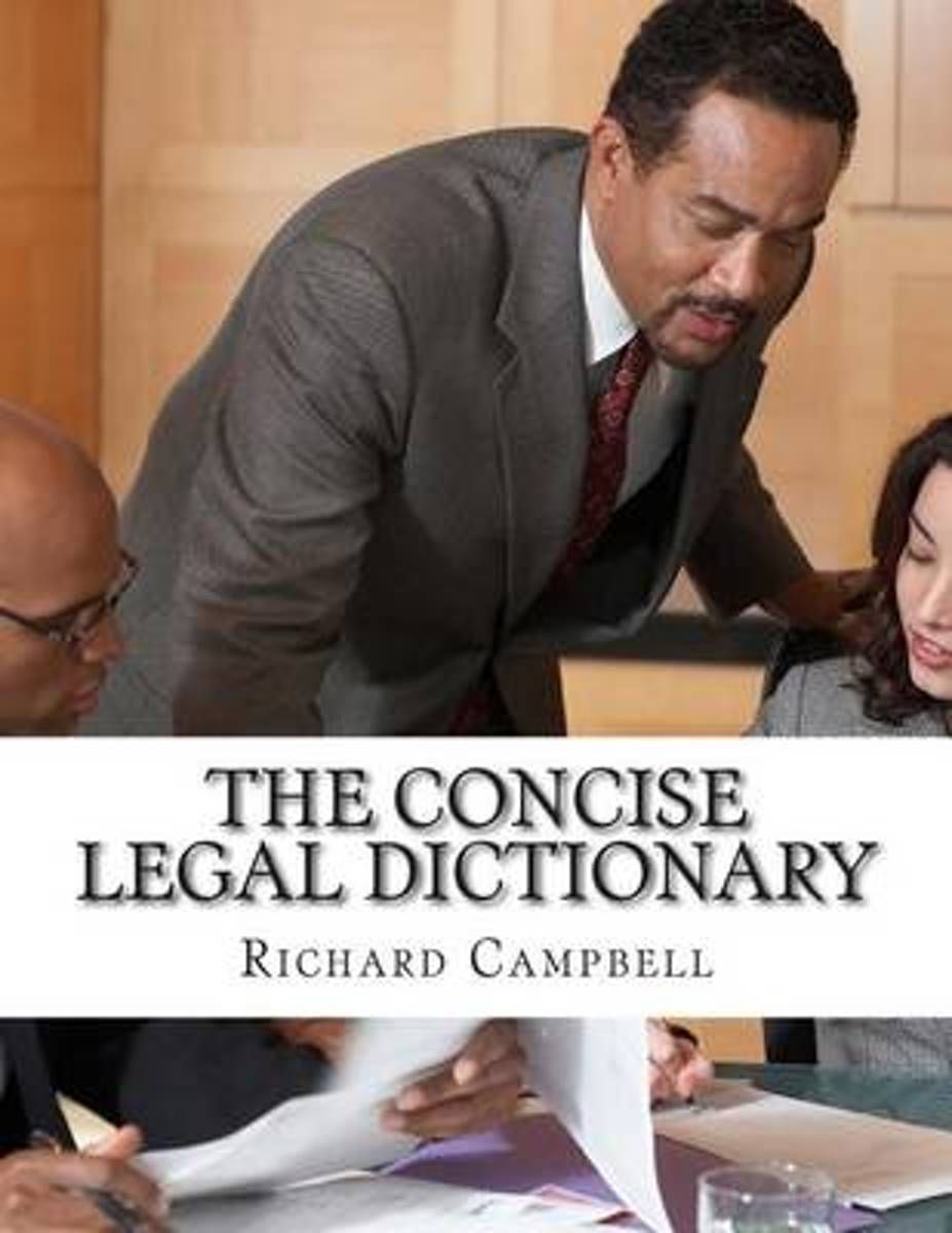 The Concise Legal Dictionary