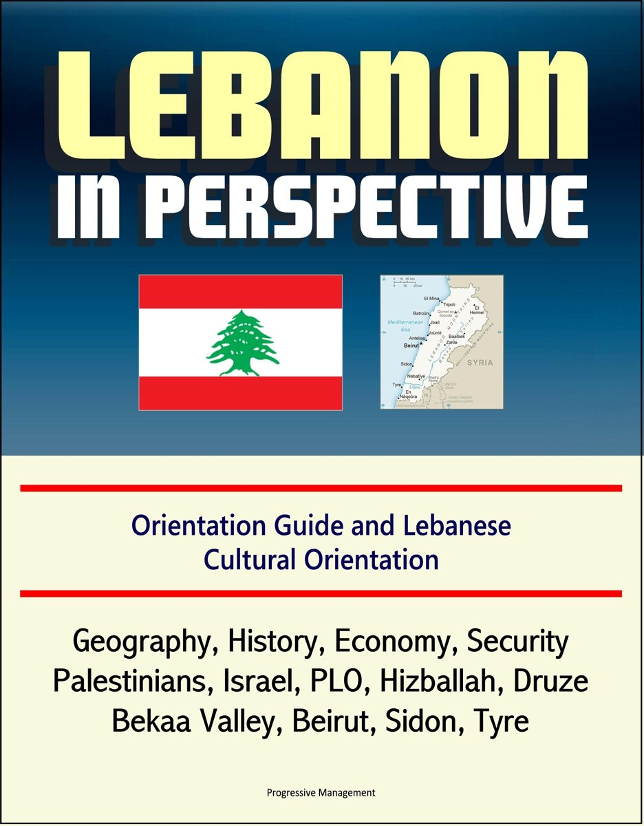 Lebanon in Perspective: Orientation Guide and Lebanese Cultural Orientation: Geography, History, Economy, Security, Palestinians, Israel, PLO, Hizballah, Druze, Bekaa Valley, Beirut, Sidon, T