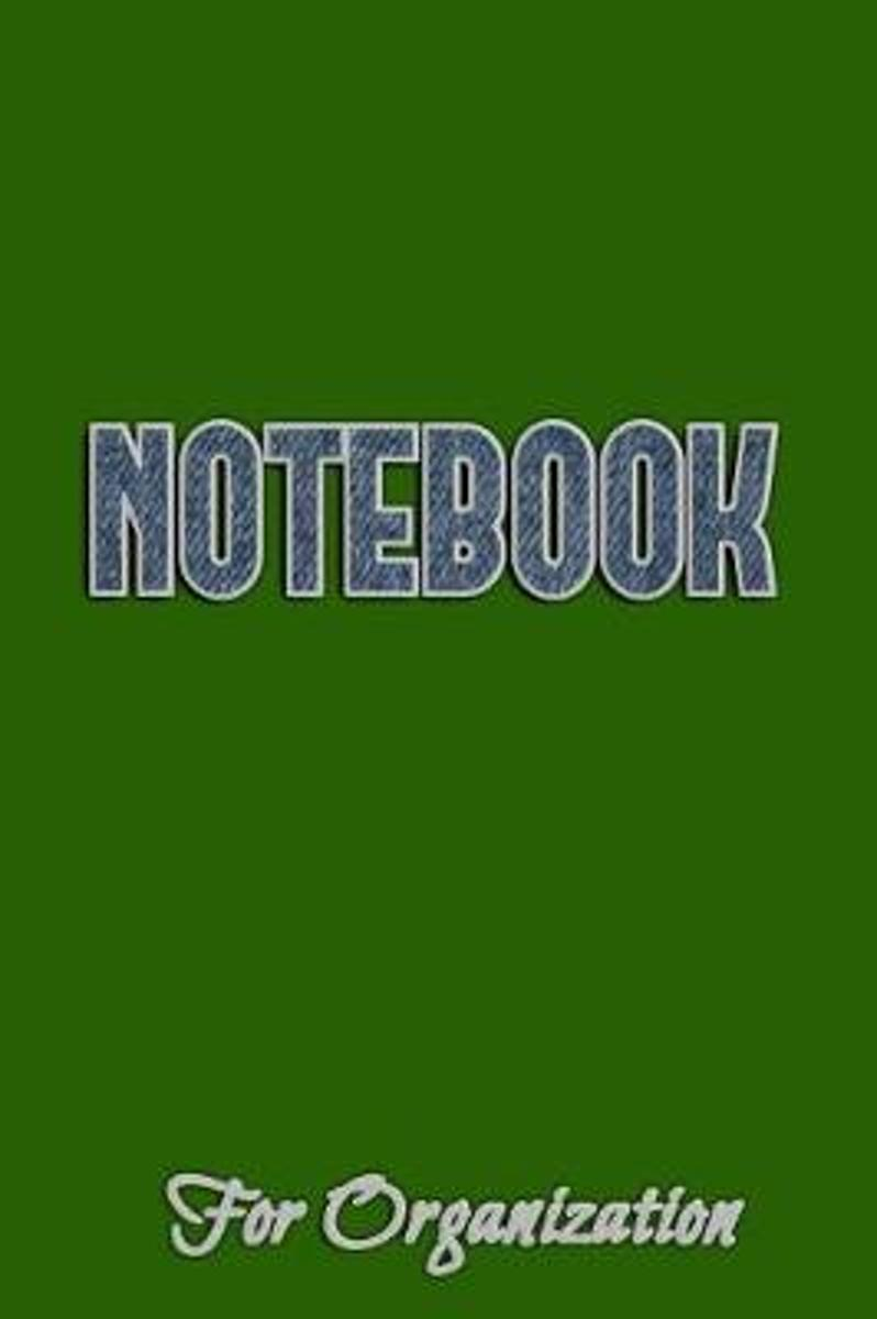 Notebook for Organization