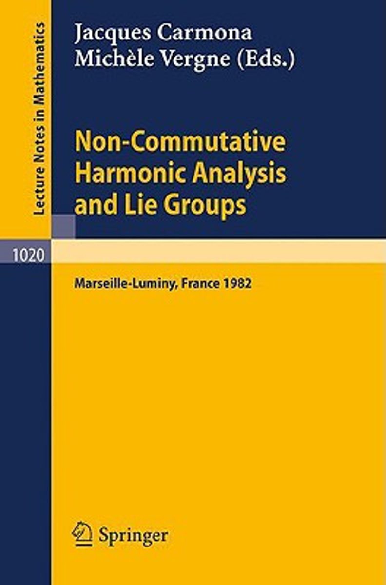Non Commutative Harmonic Analysis and Lie Groups
