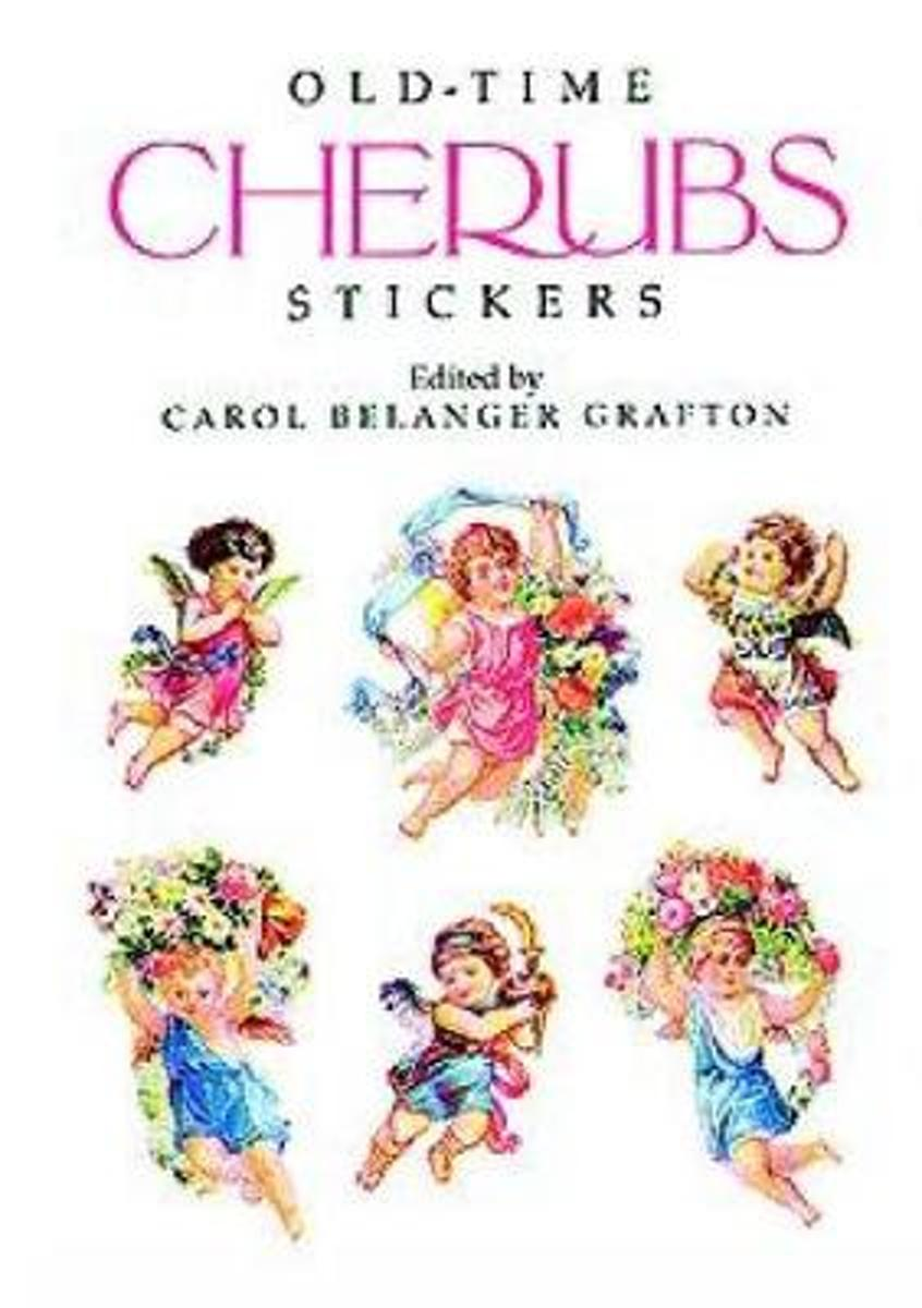 Old-Time Cherubs Stickers