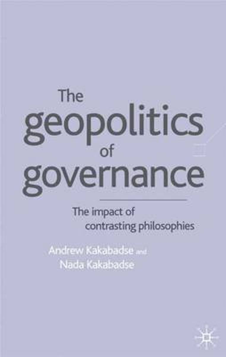 Geopolitics of Governance