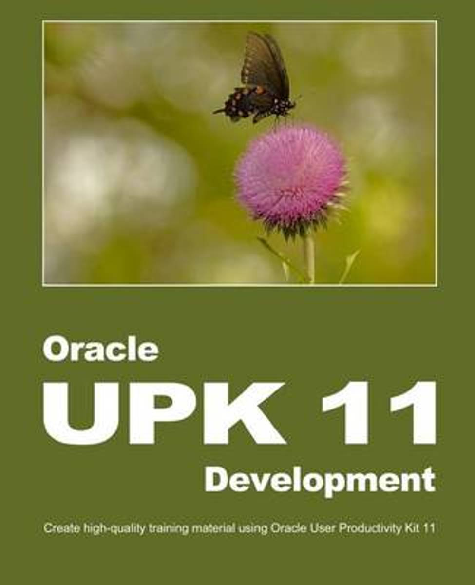 Oracle UPK 11 Development