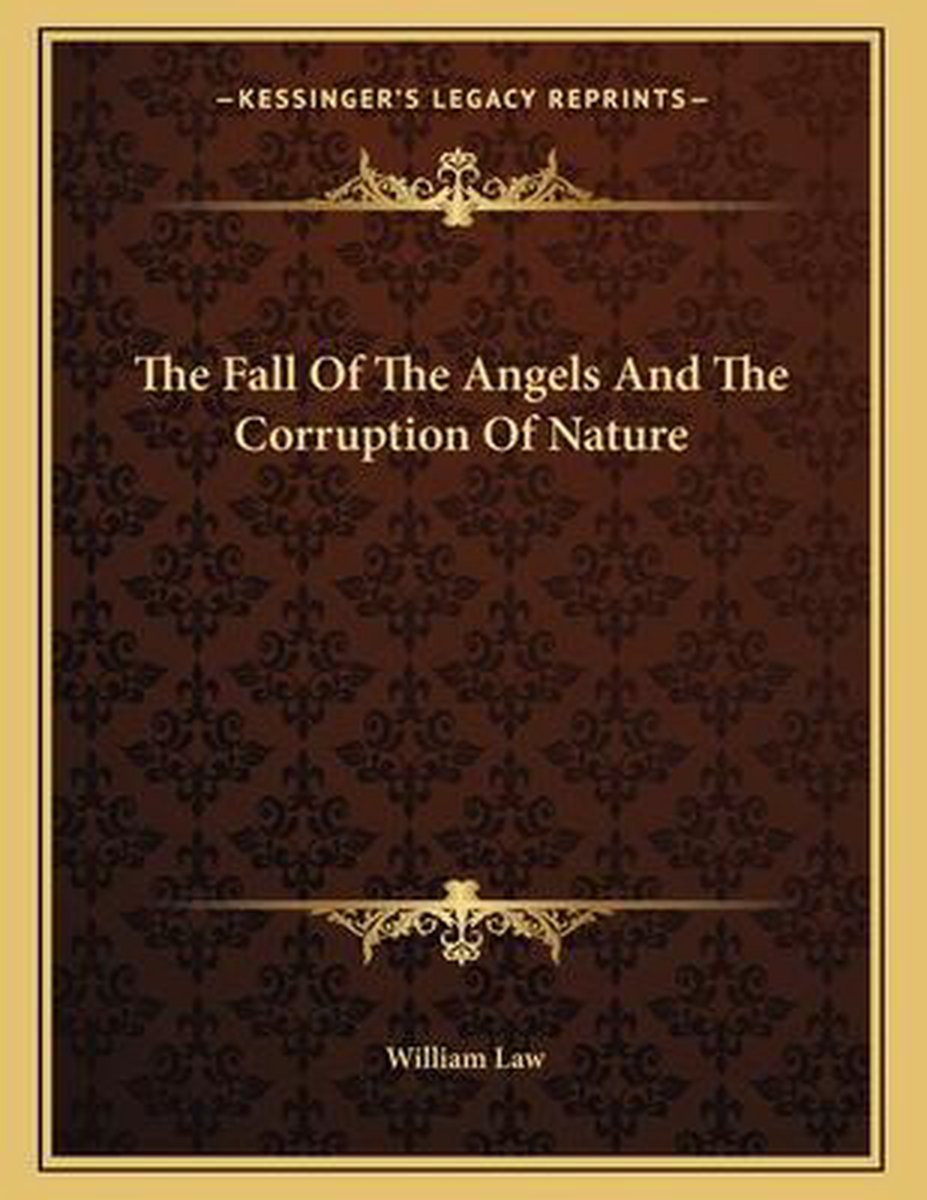 The Fall of the Angels and the Corruption of Nature